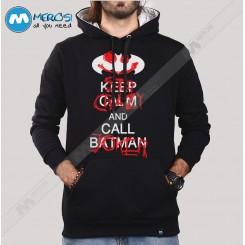 سویشرت Keep Calm And Call Batman No