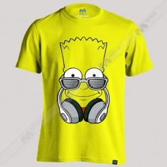 تیشرت Simpson Headset