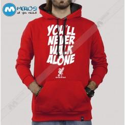 سویشرت You Never Walk Alone Red Version