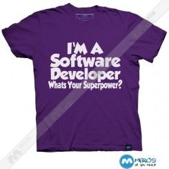 تیشرت طرح Software developer
