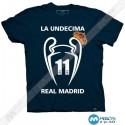 تیشرت طرح La UNDECIMA Real Madrid