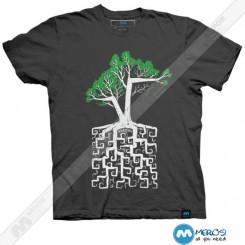 تیشرت طرح Square Root