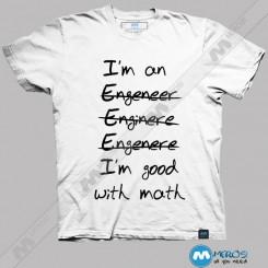 تیشرت طرح مهندسی