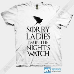 تیشرت Sorry Ladies Game Of Thrones Serie