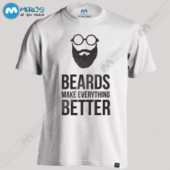 تیشرت Beards Make Everything Better
