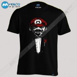 تیشرت طرح Super Mario Father