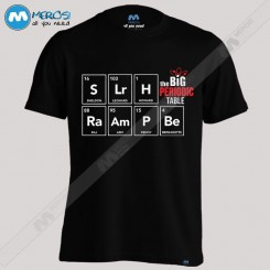 تیشرت The Big Bang Theory Periodic Table