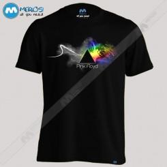 تیشرت طرح Pink Floyd spline