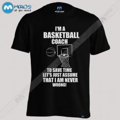 تیشرت Basketball Coach