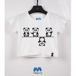 نیم تنه دخترانه Panda Line