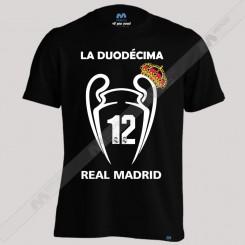 تیشرت Real Madrid DUODECIMA