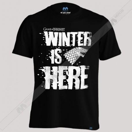 تیشرت پسرانه Winter IS Here Got