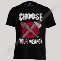 تیشرت پسرانه Choose YOur Weapon