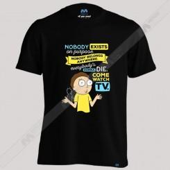 تیشرت پسرانه Morty Nobody