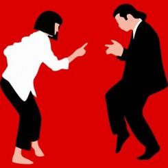 تیشرت Pulp Fiction Dance