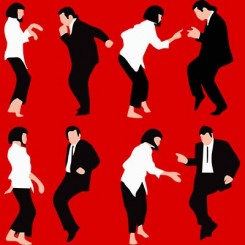 تیشرت Pulp Fiction Dance2