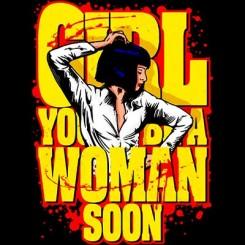 تیشرت Pulp Fiction Woman