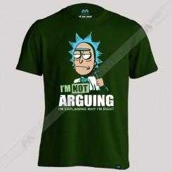 تیشرت Arguing Rick