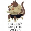 تیشرت hungry like the wolf