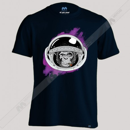 تیشرت Monkey in space suit Art