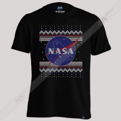 تیشرت NASA Logo Christmas Sweater