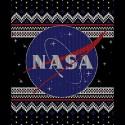 تیشرت NASA Logo Christmas Sweater