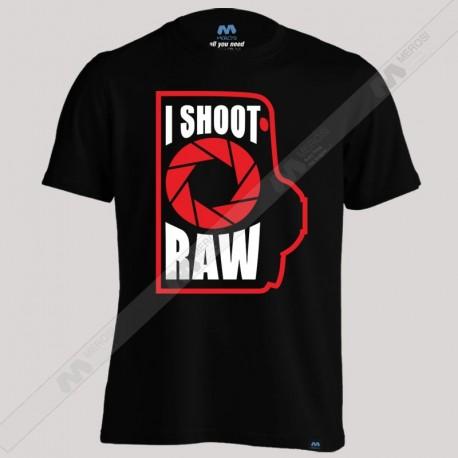 تیشرت I Shoot Raw