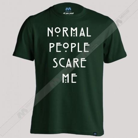 تیشرت Normal People Scare Me