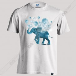 تیشرت Magical Blue Elephant