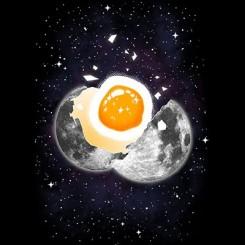 تیشرت Space Egg