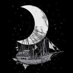 تیشرت Moon Ship