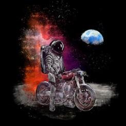 تیشرت Travel to the moon