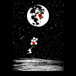 تیشرت Destination Moon
