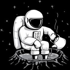 تیشرت After walking on moon