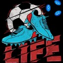 تیشرت Football Life world cup