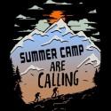 تیشرت Summer camp are calling