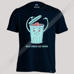 تیشرت Bad vibes go here