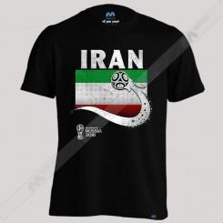 تیشرت Iran Team Flag