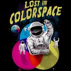 تیشرت Lost in Colorspace