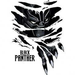 تیشرت Black Panther Breaks Through