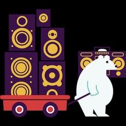 تیشرت Funky Bear
