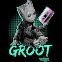 تیشرت Groot's Mixtape