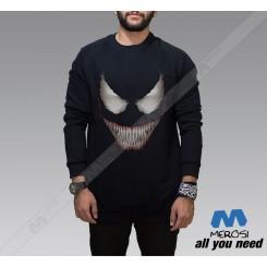 آستین بلند سویشرتی Venom Smile