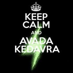 تیشرت Avada Kedavra