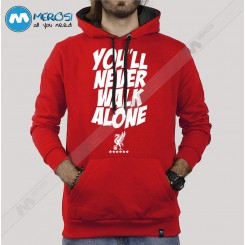 سویشرت You Never Walk Alone Red Version