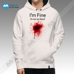 سویشرت I'm Fine It's Noy My Blood