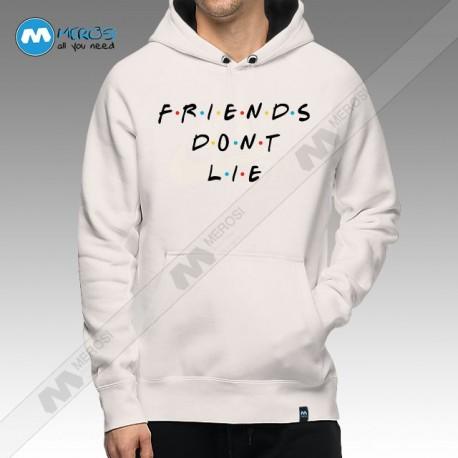 سویشرت Friends Don't Lie