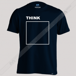تیشرت طرح Think Outside The Box