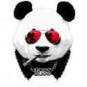 تیشرت طرح Panda Summer Boss