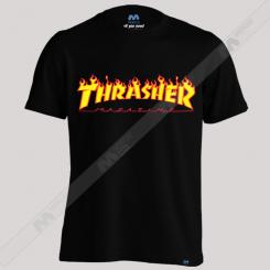 تیشرت طرح Thrasher Logo